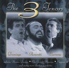 Domingo Pavarotti Carreras-The Greatest Tenors CD NEW/SEALED