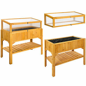 hochbeet mit ablage gem se kr uter blumenkasten. Black Bedroom Furniture Sets. Home Design Ideas