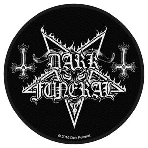 Dark-Funeral-Circular-Logo-Patch-Official-Black-Metal-Band-Merch-New