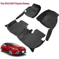 Car Floor Mats All Weather Floor Protector Cover For 2012 2017 Toyota Camry Us Fits 2012 Toyota Camry