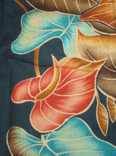 Vtg 60s-70s custom-sewn Women's anthurium Hawaiian