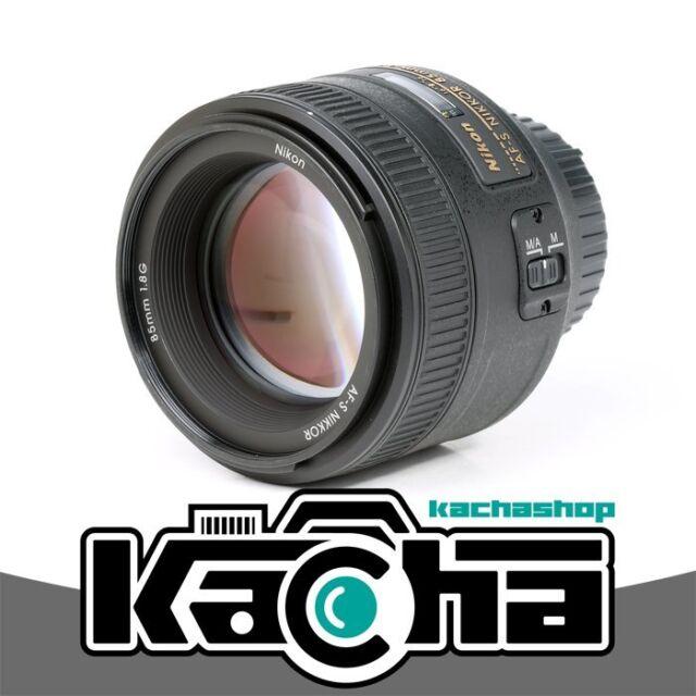 NEW Nikon AF-S NIKKOR 85mm f/1.8G Lens F1.8 G