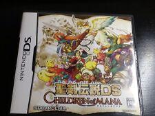 Children Of Mana~Japanese DS **USA SELLER** Complete