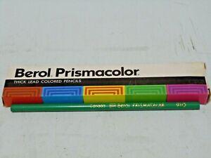 NEW-10-PACK-BEROL-PRISMACOLOR-COLLECTIBLE-910-TRUE-GREEN-COLORED-ART-PENCILS