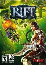 RIFT (PC Role Playing Games) Win 7 / VISTA/XP BRAND NEW & SEALED w Outer sleeve