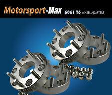 "4 Wheel Adapters 6x4.5 To 6x5.5 Spacer 6 Lug Chevy Toyota Rim on 6 Lug Dakota 1"""