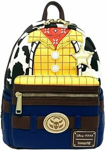 fcad1b9a8f0 Woody Toy Story 4 Loungefly Mini Backpack S WDBK0491 for sale online ...