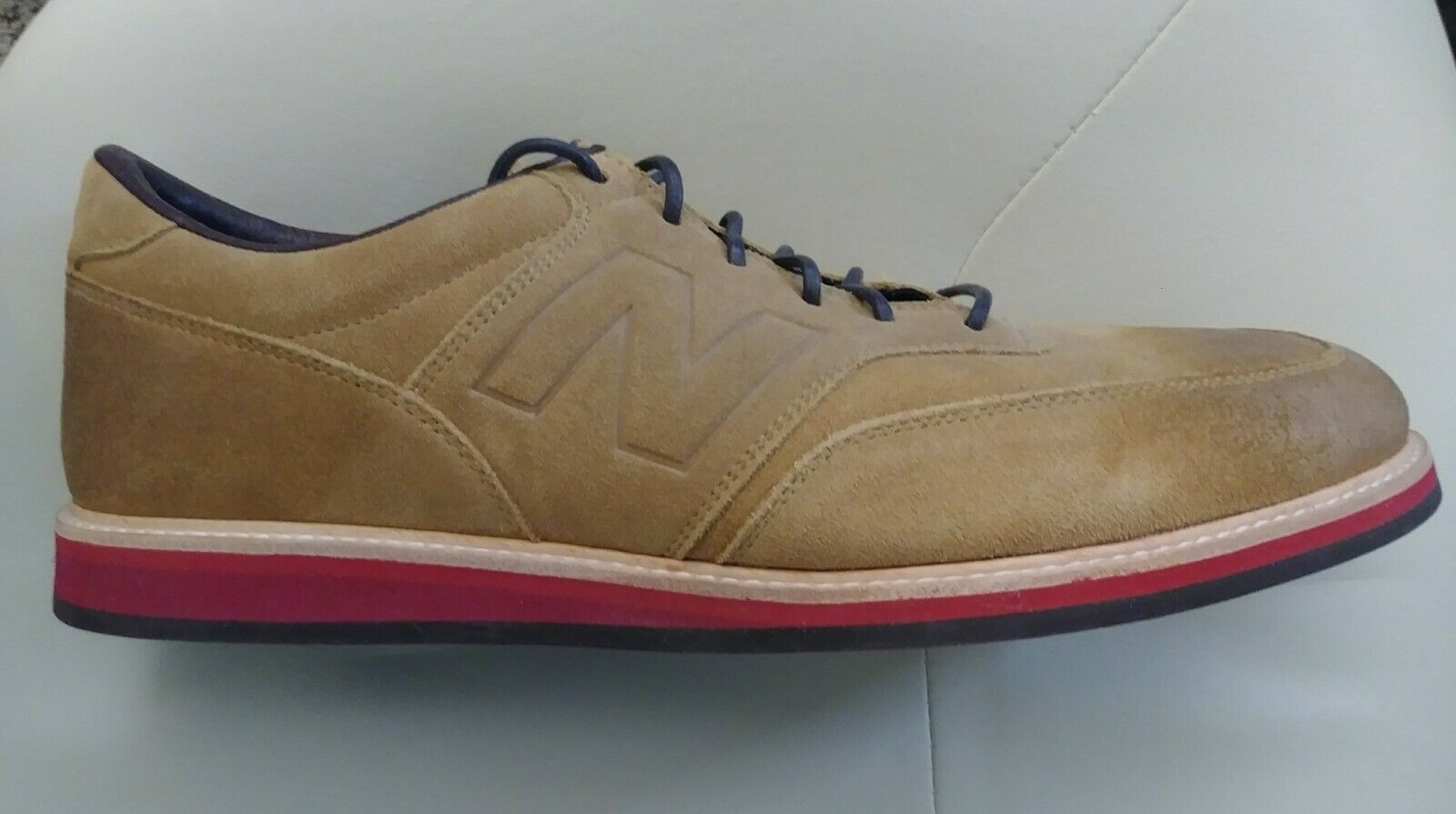 New Balance Men's 1100v1 Walking shoes - Size 13, X-Wide (4E) Brown Maroon sole