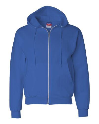 Double Dry Eco Full-Zip Hooded Sweatshirt New Champion S800 S,M,L,XL,2XL,3XL