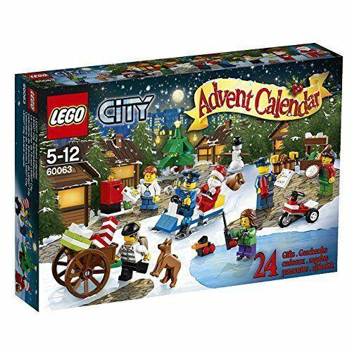 LEGO ® 60063 città Advent Calendario  del 2014-Nuovo Scatola Originale  migliore offerta