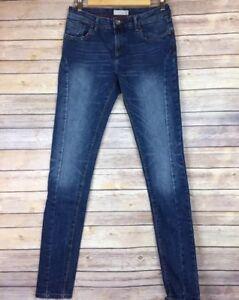 Splash-Womens-Jeans-Sz-28-Skinny-Medium-Wash