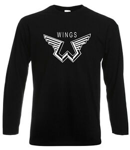 Image Is Loading New Paul McCartney Wings Logo Music Legend Long