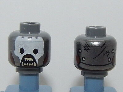 Lego Minifigure Head The Hobbit /& The Lord Of The Rings Grima Wormtongue H113