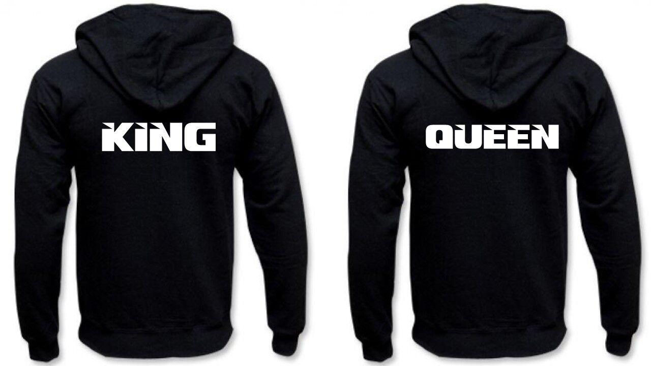 Partner Hoodies - KING & QUEEN..