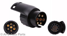 7 To 13 Pin Trailer Car Truck Caravan Plug Adapter Towbar Socket Towing Electric