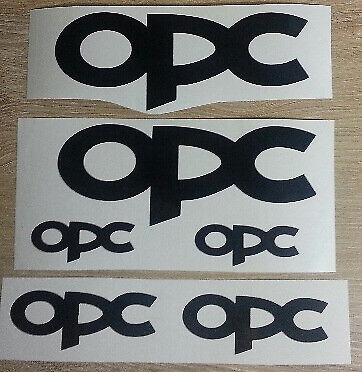 Opel performance / OPC stickers decals