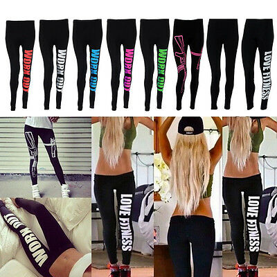 Women's Workout Legging Yoga Gym Running Fitness Sports Trouser Training Pants