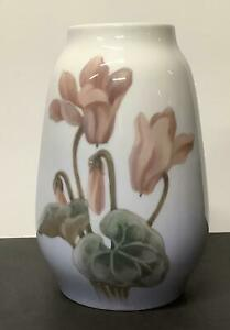 Royal Copenhagen Art Nouveau Floral Vase 254/1224 Denmark 1956