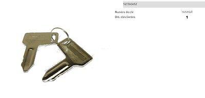 CLE DE CONTACT TAKEUCHI N° 806 INTERRUPTEUR D/'ALLUMAGE CHARIOT TRACTOPELLE