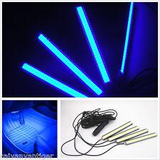 Blue Universal Car SUV Accessories Floor Decorative Atmosphere COB Lamp Light