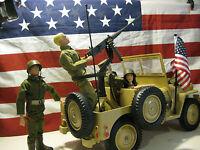 Vintage Gi Joe Desert Patrol Attack Jeep / Rat Patrol Replacement Antenna