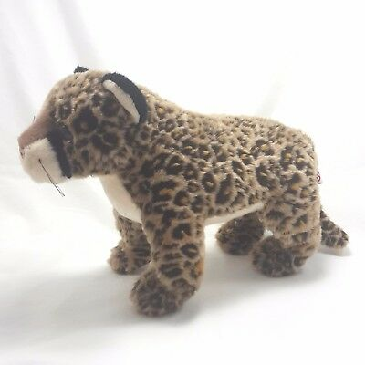 Ty Classic Plush Dot Leopard 1999 Retired 10in Jungle Cat Standing Large Spotted