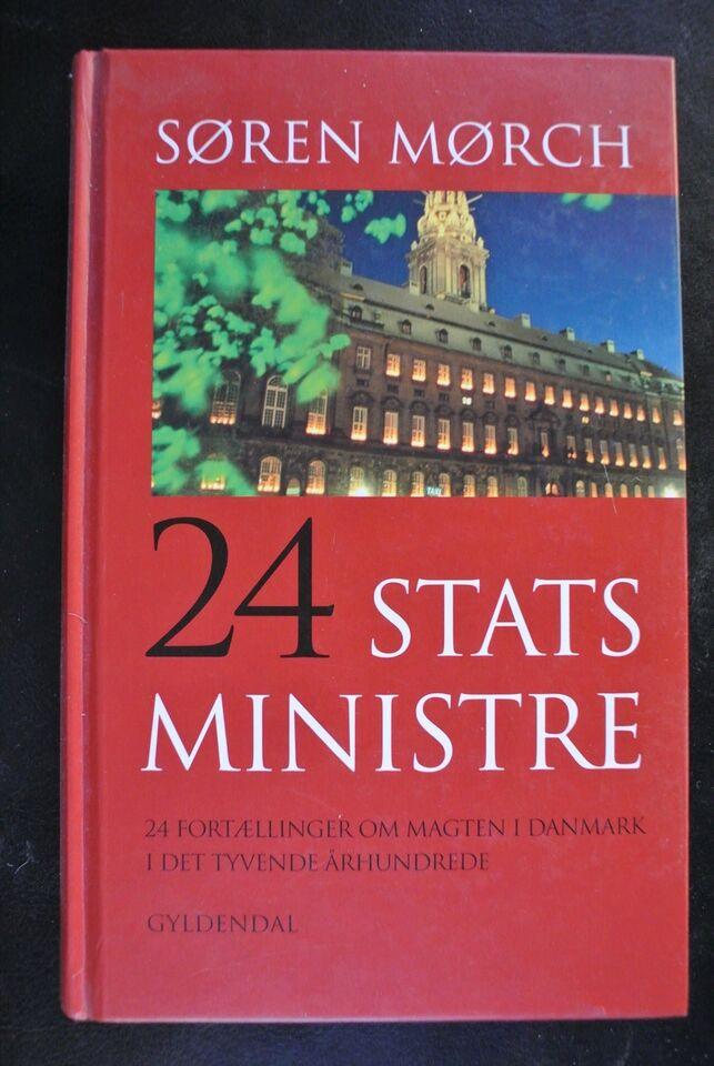 24 statsministre, søren mørch, emne: politik