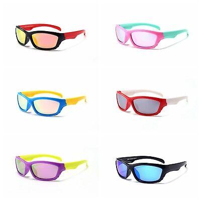 Herzhaft Kinder Sportbrille Polarisiert Sonnenbrille Uv400 Schutz Radbrille A458 NüTzlich FüR äTherisches Medulla