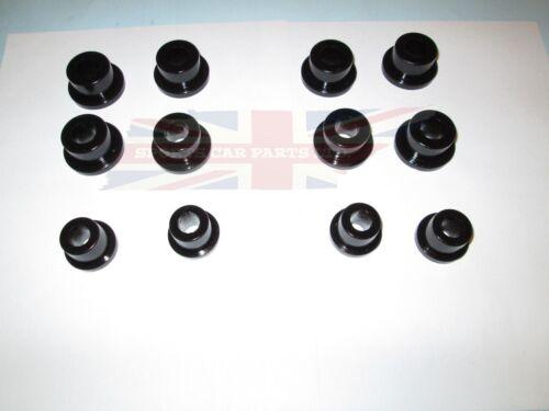 New Poly Polyurethane Control Arm Bushings A-Arm /& Upper Trunnion Bushing  MGB