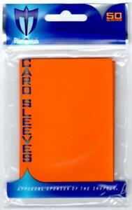 Max Protection YUGIOH Card Sleeves Flat ORANGE (50 Count) Yu-Gi-Oh!