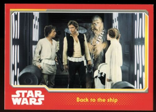 Topps UK Journey To Star Wars The Force Awakens Base Card,Choose from Selection