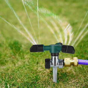 Lawn Sprinkler Automatic Garden Water Sprinklers Lawn Irrigation Rotation 360° S