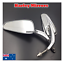 Chrom-Rearview-Mirror-Harley-sportster-softail-dyna-electra-glide-XL-CVO-fat-bob thumbnail 1