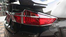 For Honda City  2014-2016 Chrome Rear Light Tail Lamp Cover Trim