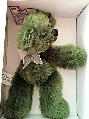 Systematic Annette Funicello Mintbeary Slush 7 Inch Mohair Bear From Bean Bag Collection For Fast Shipping Annette Funicello Bears