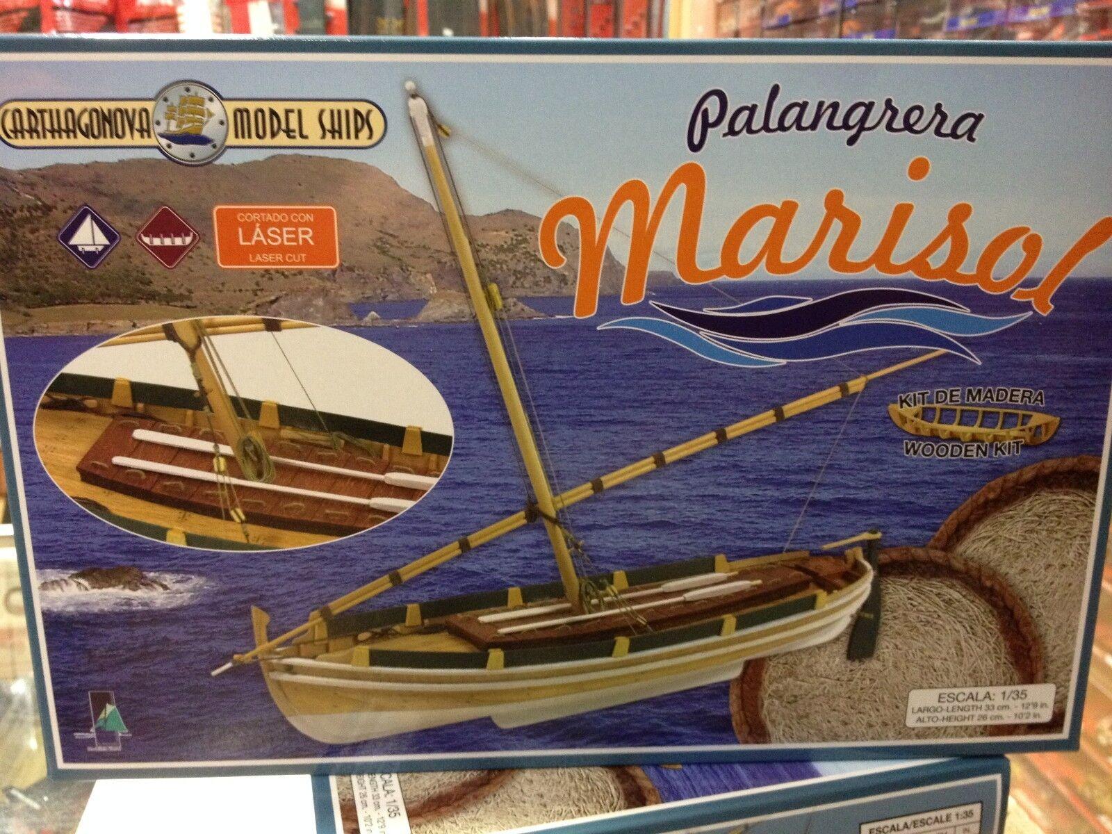 BARCO MADERA PALANGRERA  MARISOL  1 35 CARTHAGONOVA