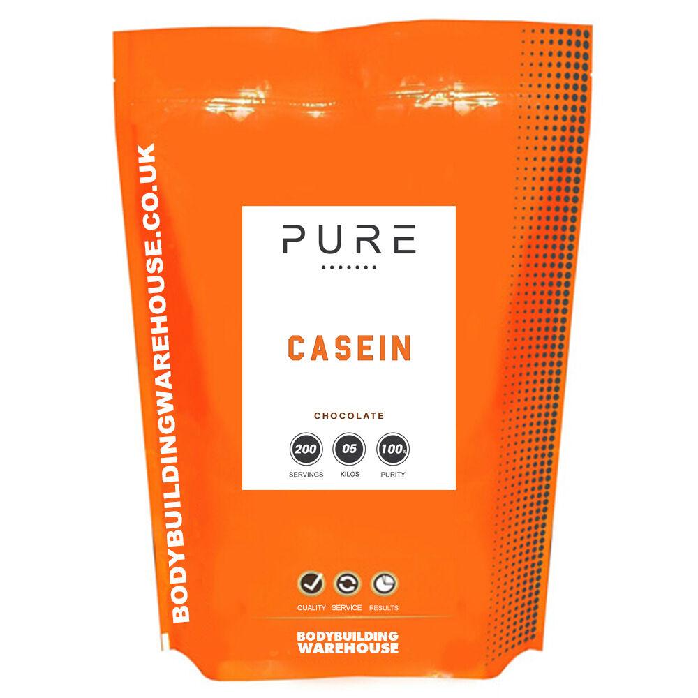 PURE MICELLAR CASEIN SLOW 5kg RELEASE PROTEIN POWDER - 5kg SLOW (Millionaires Shortcake) 99f85c