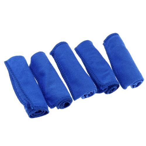 5 Stück Microfasertücher Mikrofasertuch Putztücher Für Fahrrad Auto Motorrad
