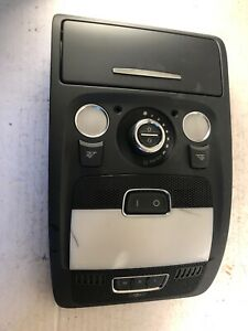 09-12-AUDI-Q5-8R-Front-Dome-Reading-Light-Sunroof-Switch-8T0-947-135-H