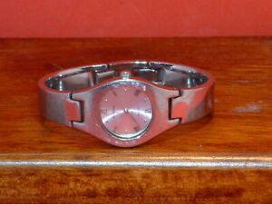 Pre-Owned-Women-s-Fossil-Steel-Silver-FS-2561Analog-Quartz-Watch
