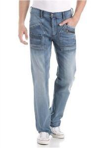 Jeans W34 l36 W31 Droit W32 Homme Travailleur Bleu Neuf Jean W33 4wards Zq5Yg