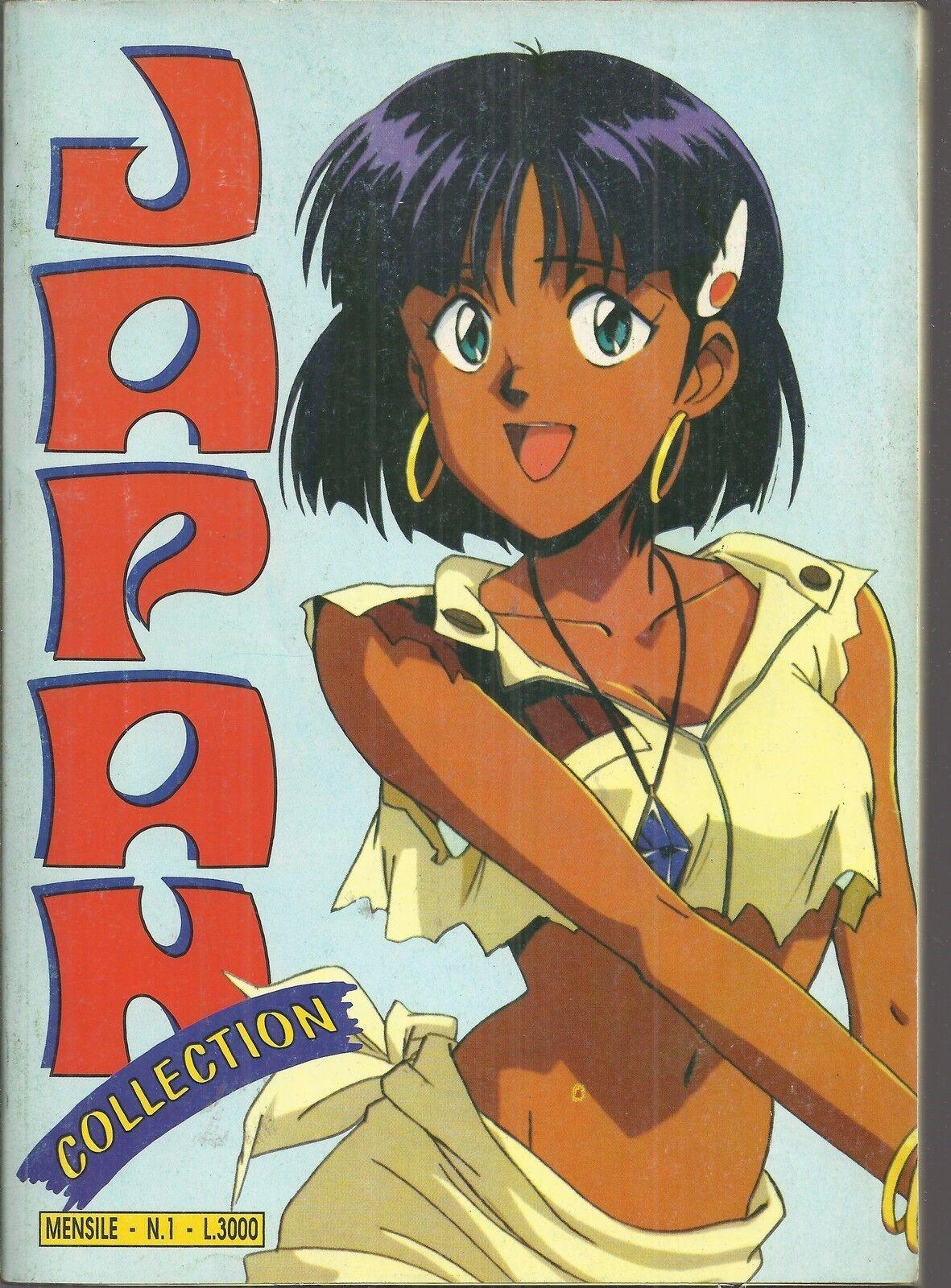 JAPAN COLLECTION n° n° n° 1 con adesivi e storia ororake, Mazinga, Jeeg Robot b4e48d