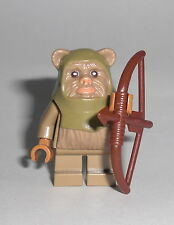 LEGO Star Wars - Ewok Warrior (10236) - Figur Minifig Krieger Endor 10236 75097