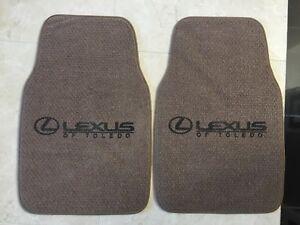 Lexus Car Floor Mats In Brown Anti Skid