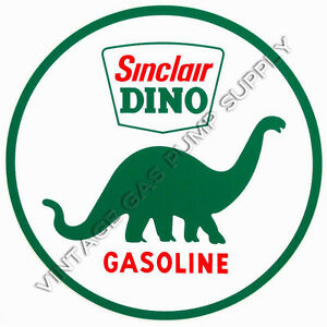"Sinclair Dino 2"" Vinyl Decal (DC121D)"
