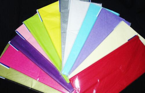 Pack de qualité papier absorbant large gamme de couleurs