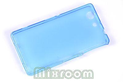 Cover Soft Case in Silicone Gel TPU Sony Experia Z3 Mini Compact