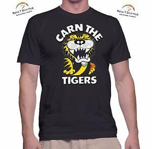 Richmond Tigers Adult Mens Retro T-Shirt Official AFL