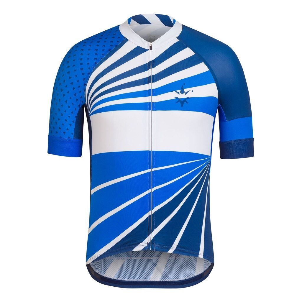 Rapha Trade Team Team Team Pro Team Jersey Short Sleeve azul Tallas Medium & Large BNWT 2a7405