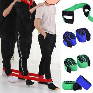 Kids-Legging-Belt-Race-Bands-Two-People-Three-Feet-Training-Outdoor-Team-GameSE
